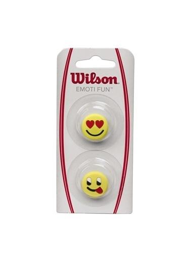 Wilson Wrz538400 Emoti-Fun Tenis Raketi Titreşim Önleyici Sarı